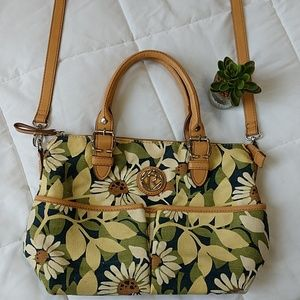 Relic canvas shoulder/handbag. Size 14x10""